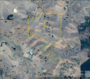 Site 10 location, adjacent to Site 5 (click to enlarge).